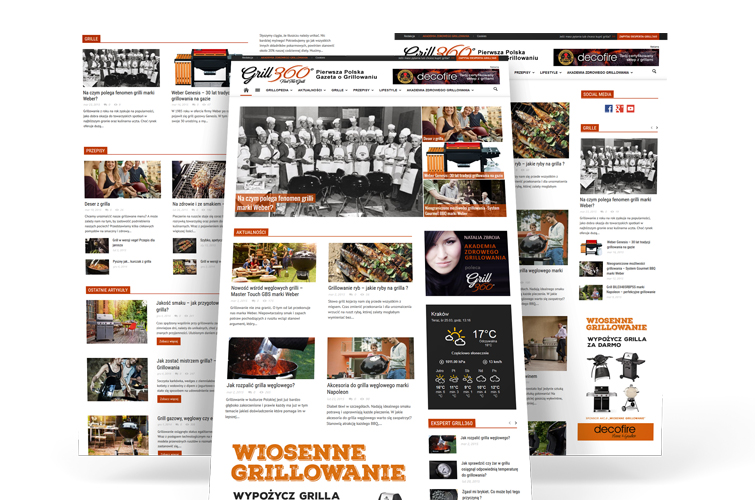 Grill360-webdesign