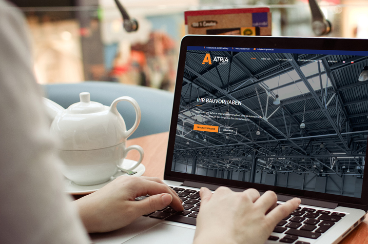 Atria-system-webdesign-derstone
